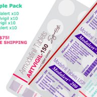 Provigil modafinil sample pack